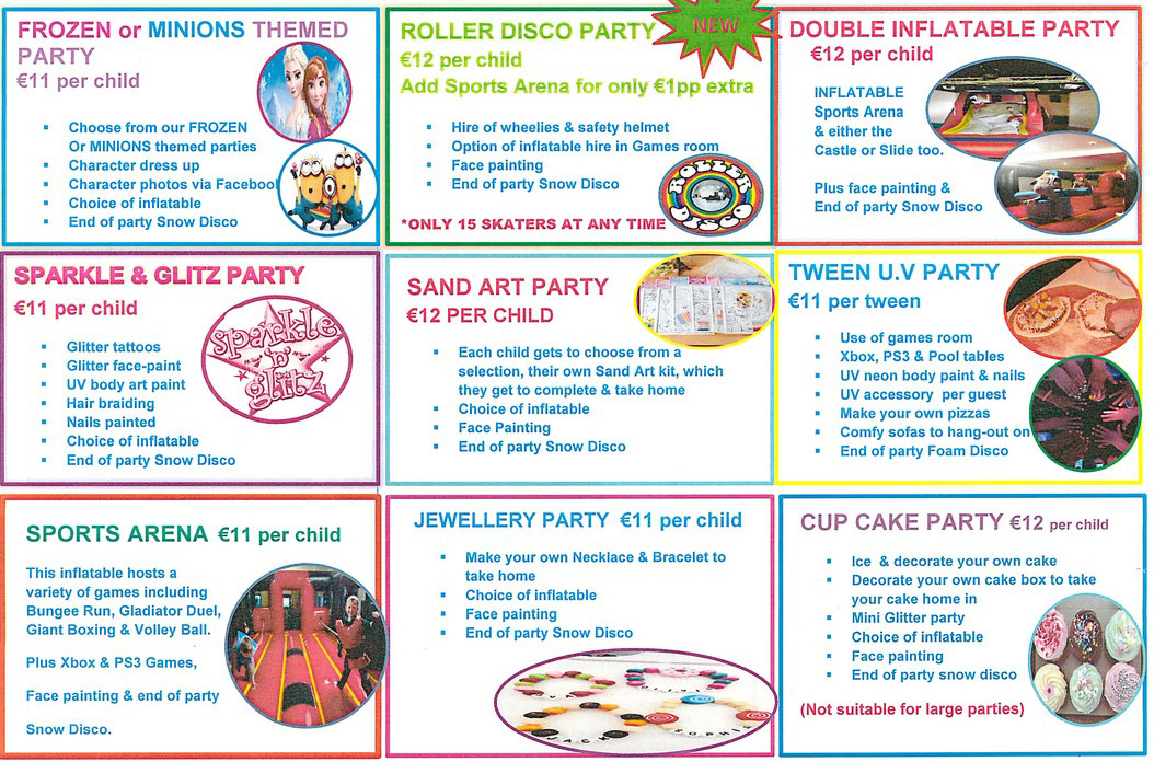 Birthday Parties Rathmore